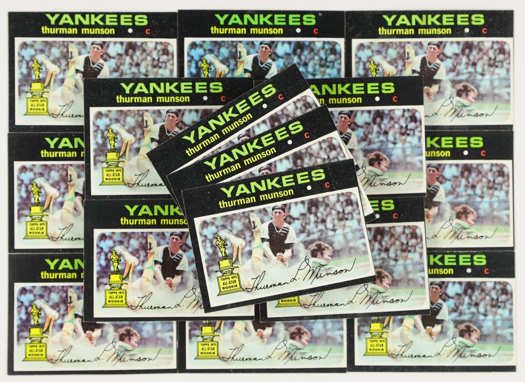 1971 Topps Thurman Munson #5 Lot of 16 (High Grade)