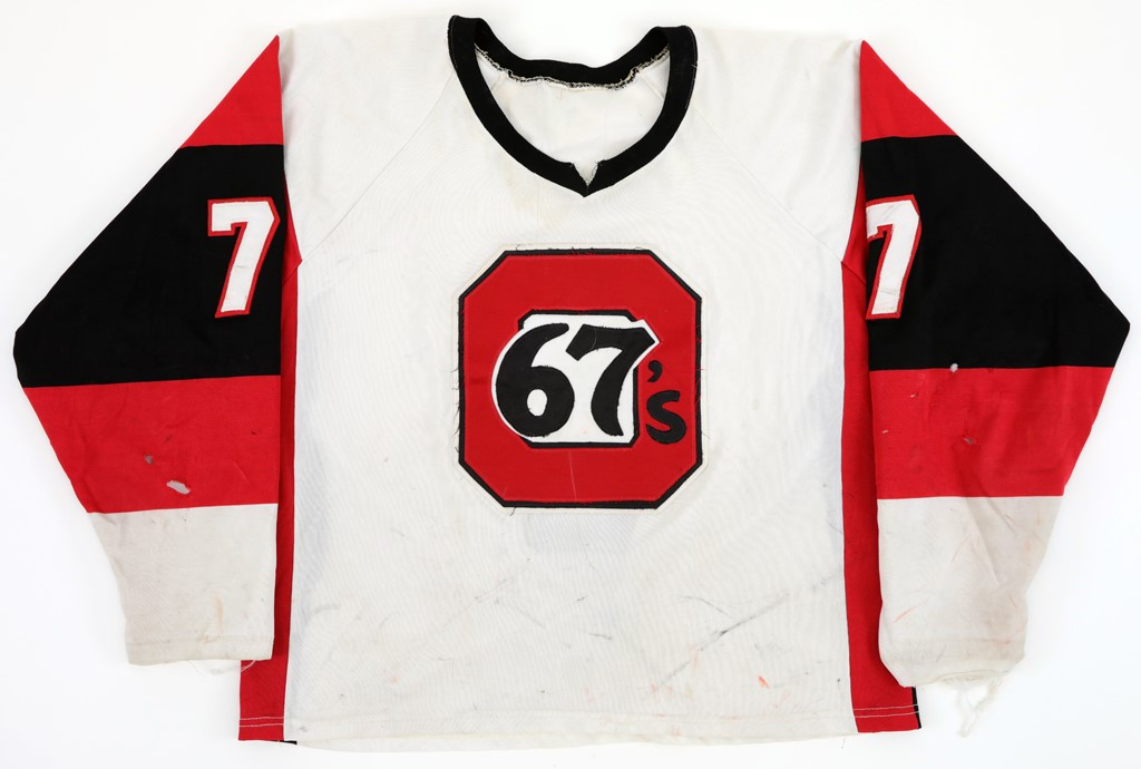 Late 70's Early 80's Ottawa Game Used Jersey