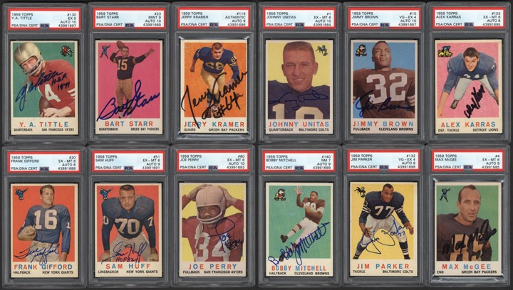 Football Cards - 2019 Fall Classic