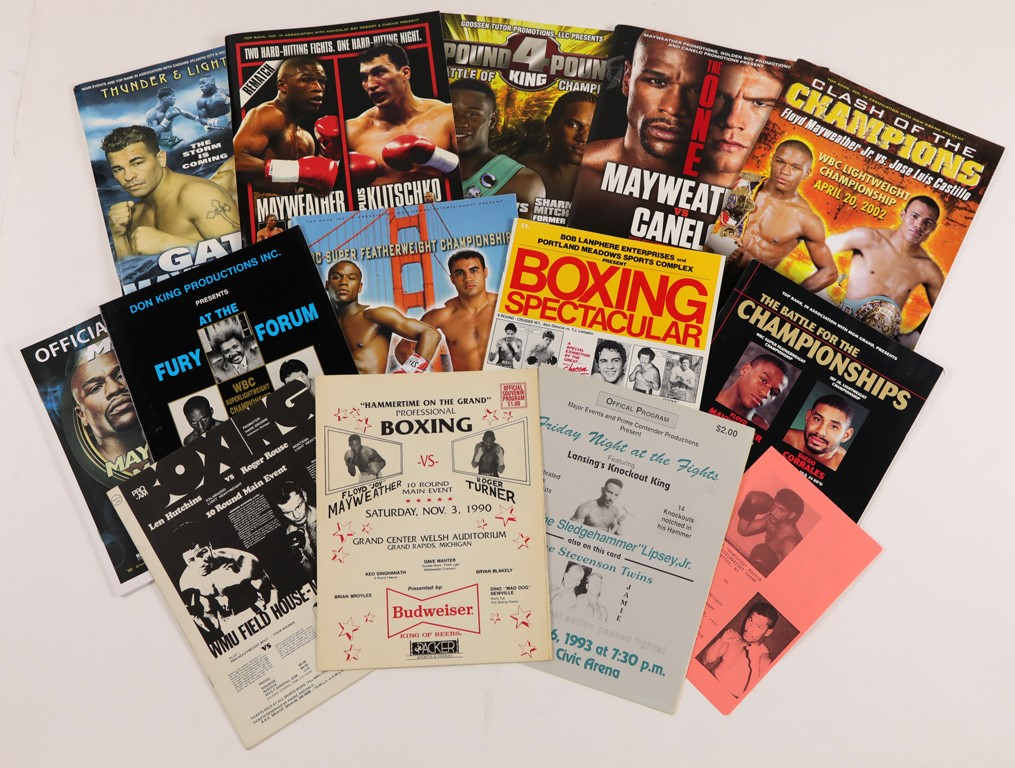 Mayweather's Fight Program Collection