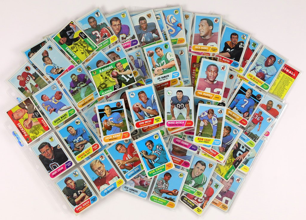 1968 Topps Football Complete Set