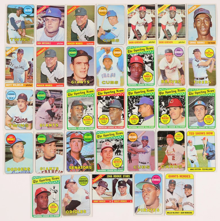 1966 and 1969 Topps Baseball Stars Hoard (33)