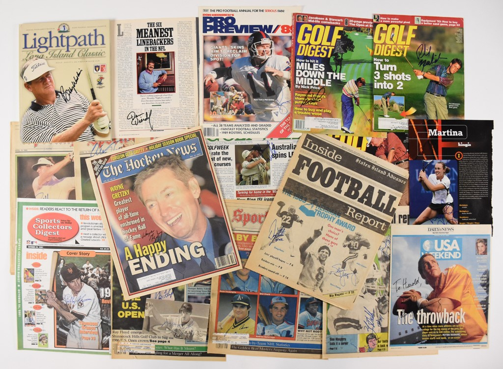The Florida In Person Sports Autograph Collection (40+)