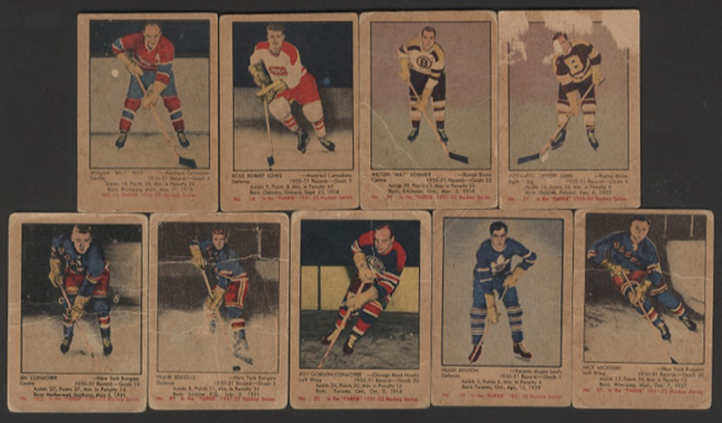 1951 Parkhurst Hockey Collection with Rocket Richard (11)