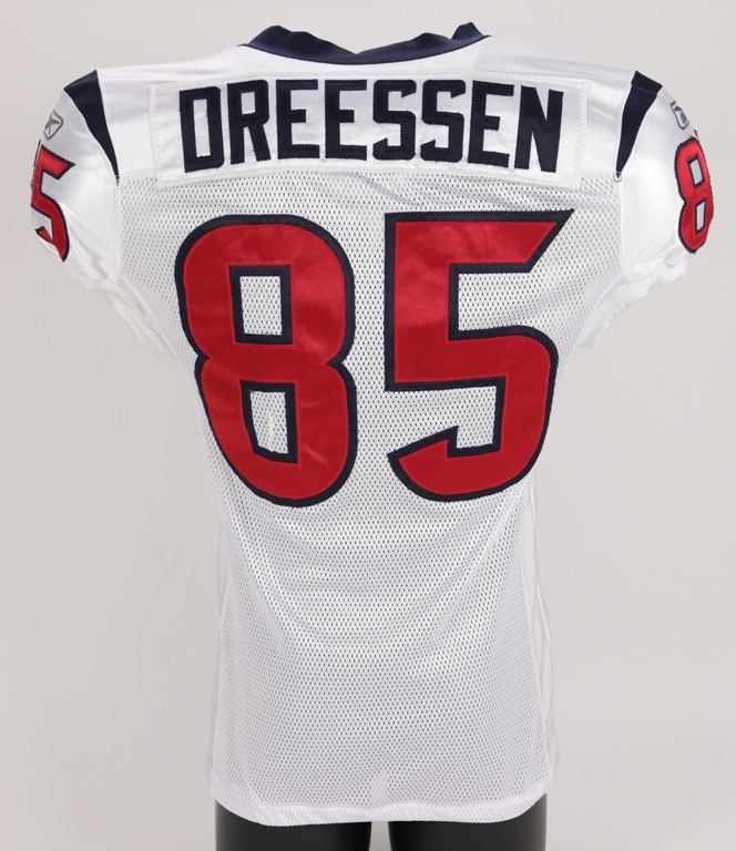 2011 Joel Dreessen Houston Texans Game Worn Jersey