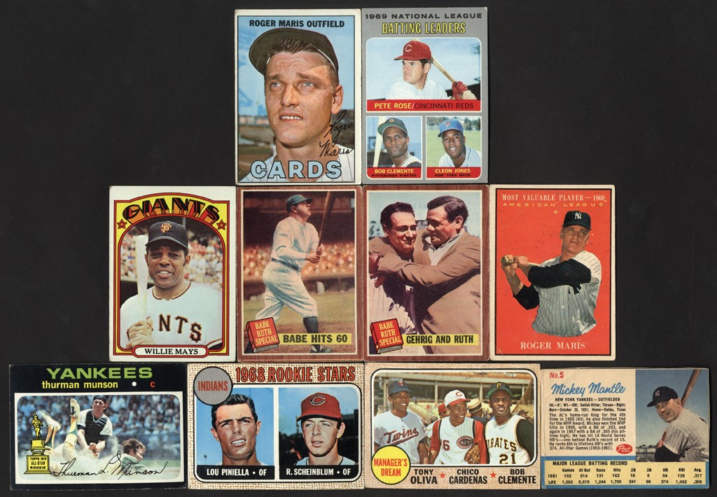 Baseball and Trading Cards - Spring 2020 Pop-Up