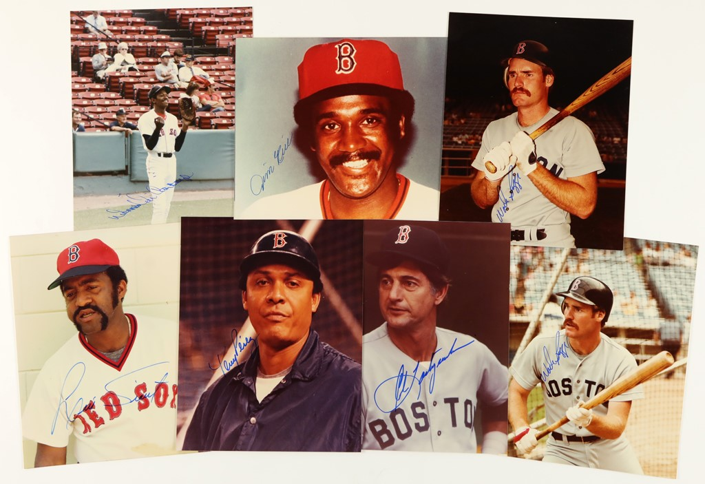 Boston Red Sox Autographed 8x10's from Private Signings (65)